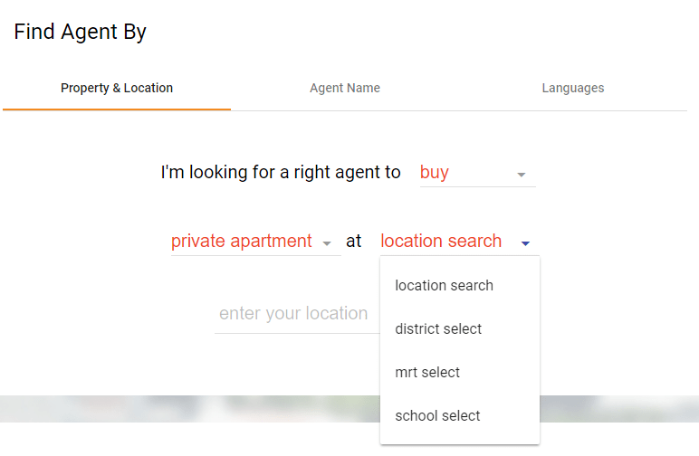 Customise your property search according to the criteria that best suits your needs.