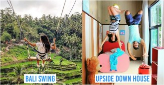 Bali Swing and Upside Down House
