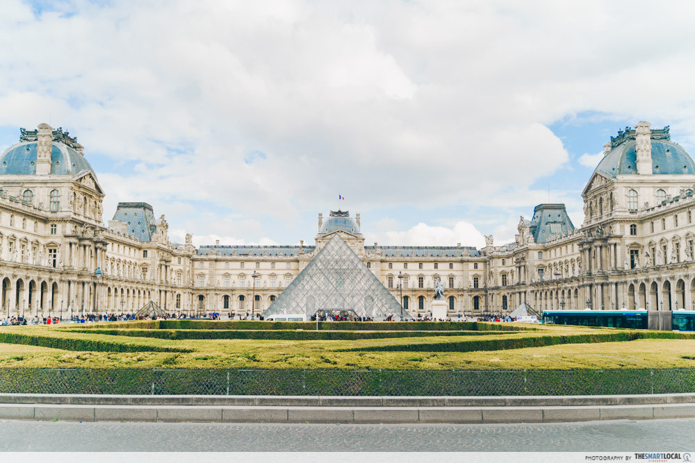 Museums in Paris - The Louvre