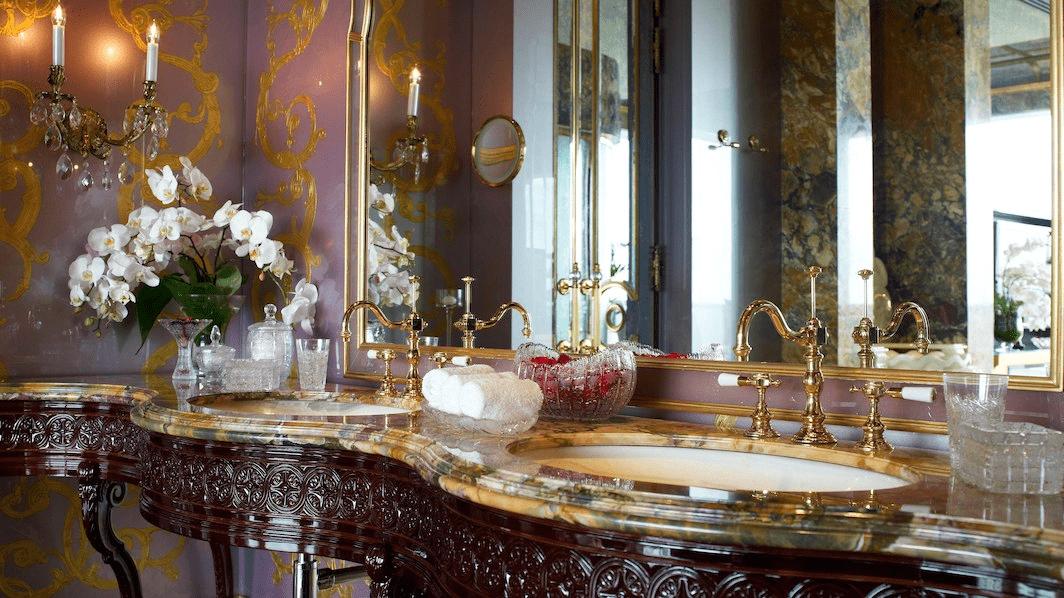 st regis presidential suite bathroom