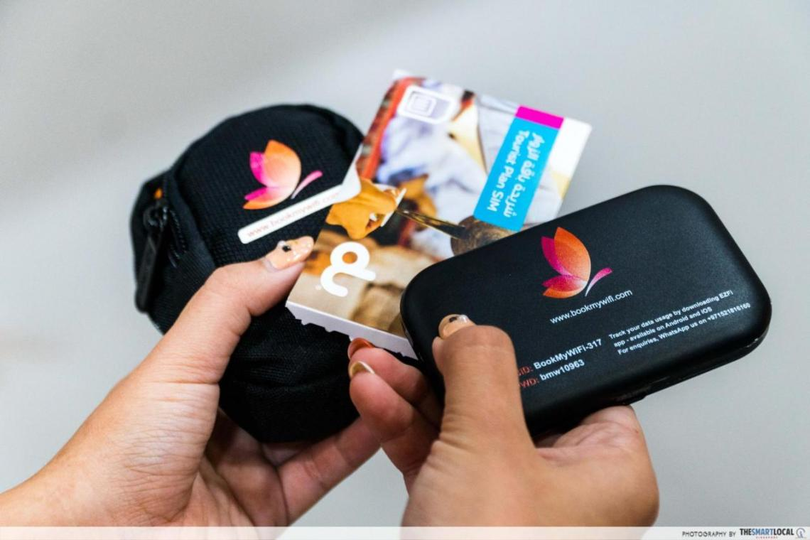 klook wifi devices sim cards