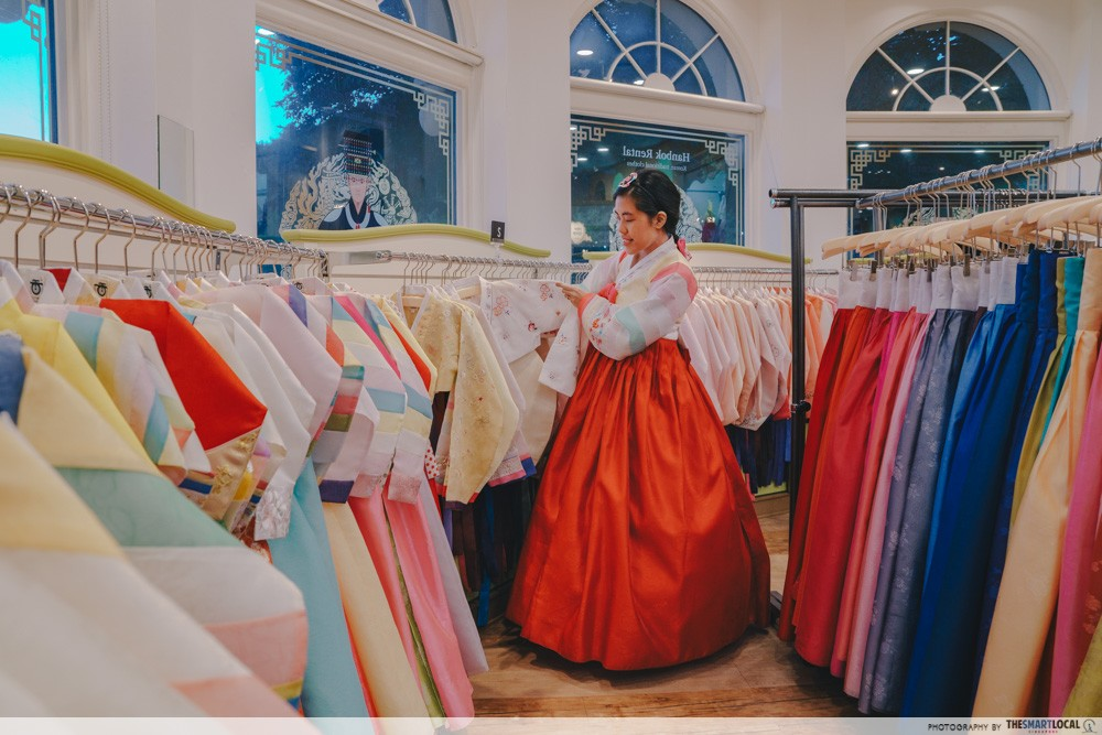 everland korea hanbok rental