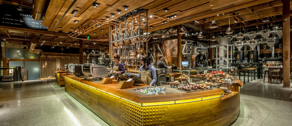 Seattle travel guide SIA - Starbucks seattle reserve roastery