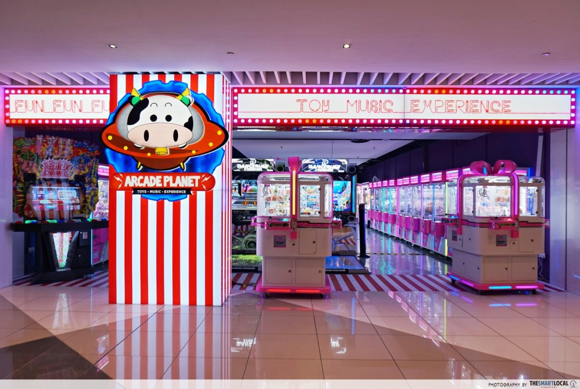Claw Machines in Singapore, Arcade Planet