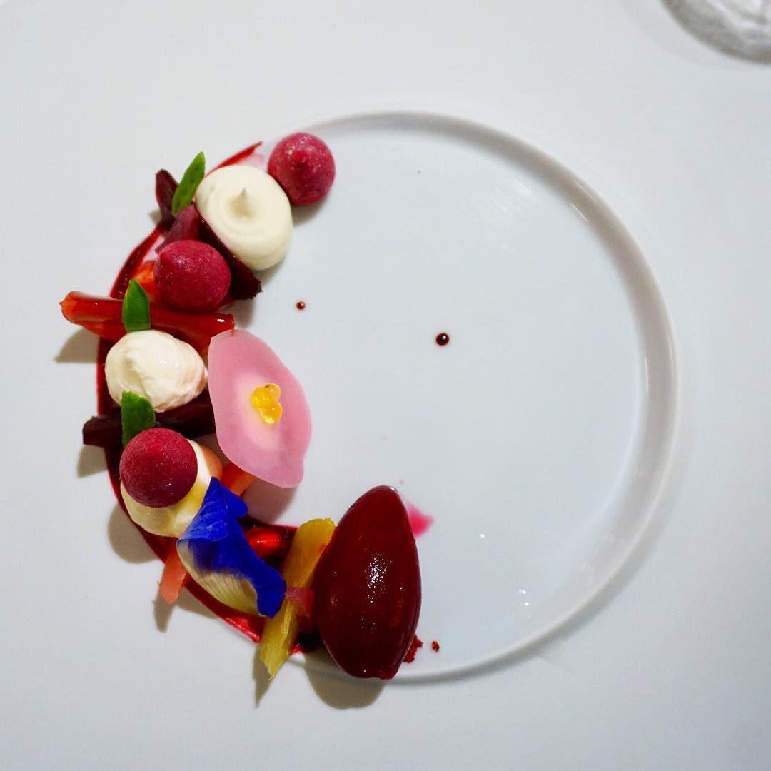 artisanal dessert odette restaurant fine dining