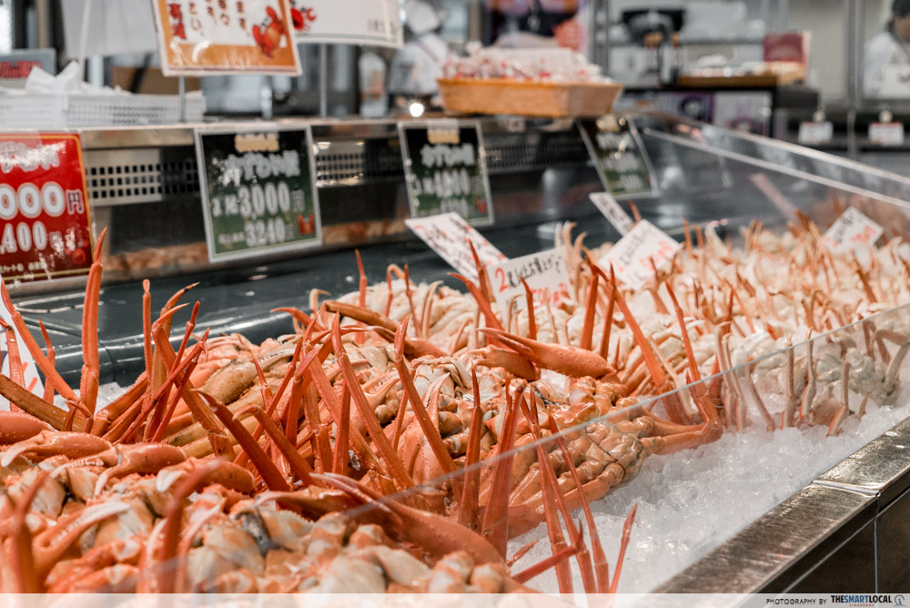Must-Try dishes in Niigata - Red Snow Crab