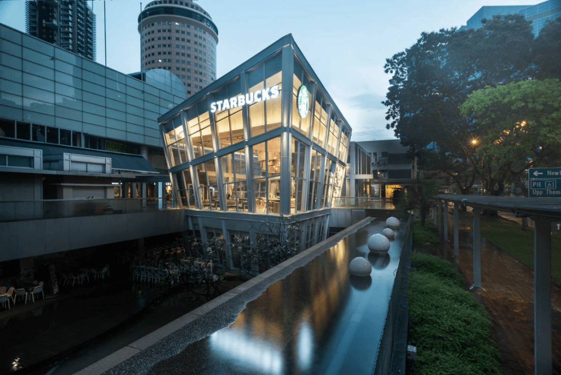 prettiest starbucks singapore outlets united square