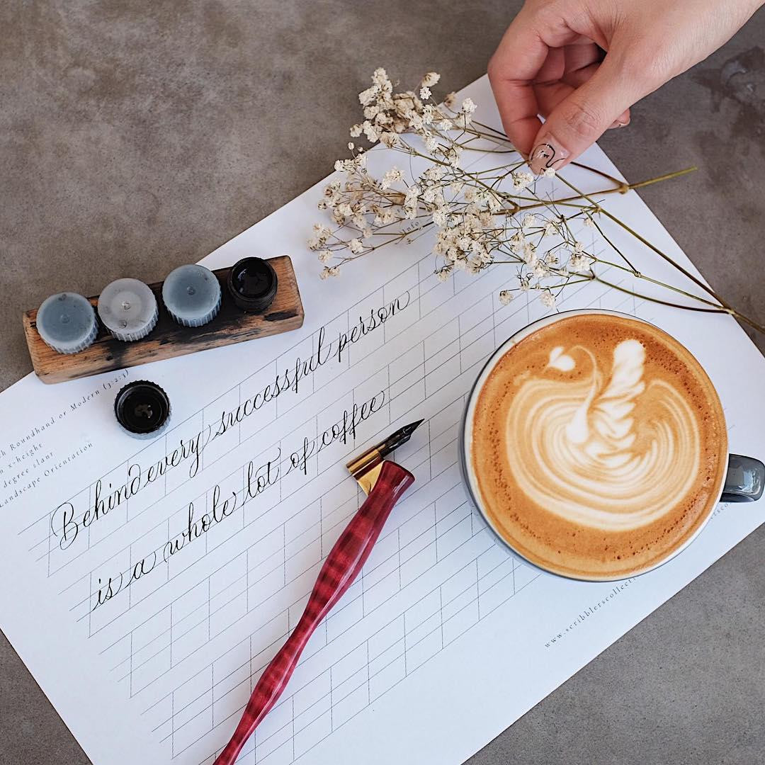 Modern calligraphy with Artsy Nibs