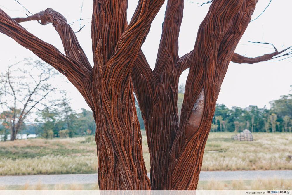 Grasslands Lakeside Garden Lone Tree