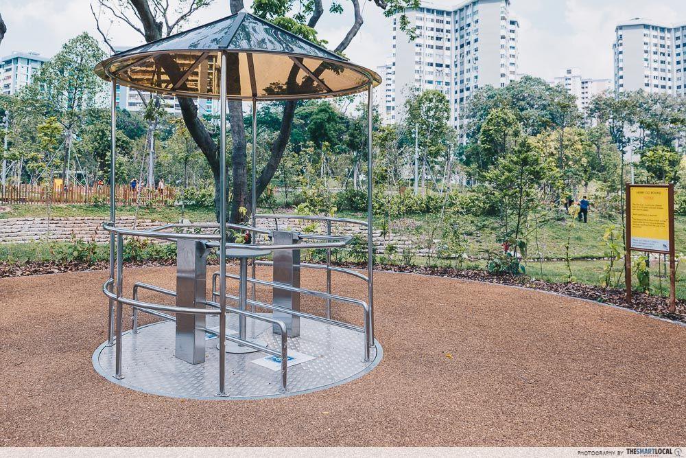 Forest Ramble wheelchair-friendly playground Lakeside Garden