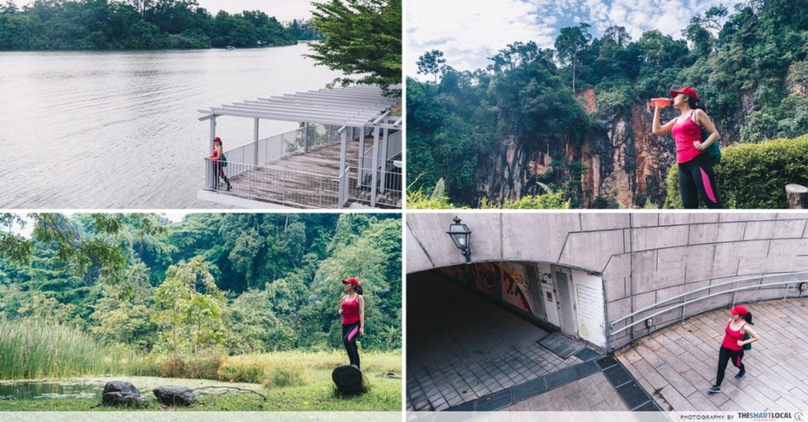 Easy walking trails in Singapore