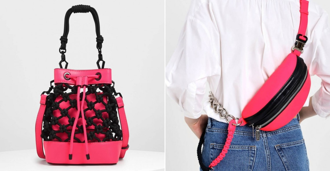knotted drawstring bucket bag