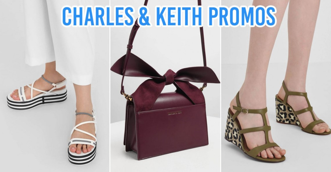charles and keith promo