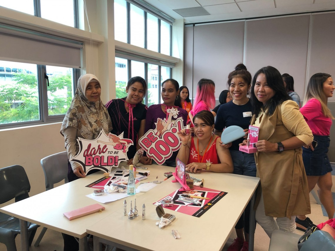 Aidha provides domestic workers with financial education