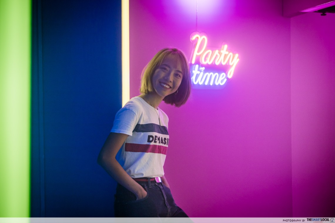 ACUVUE's Pop-up party room