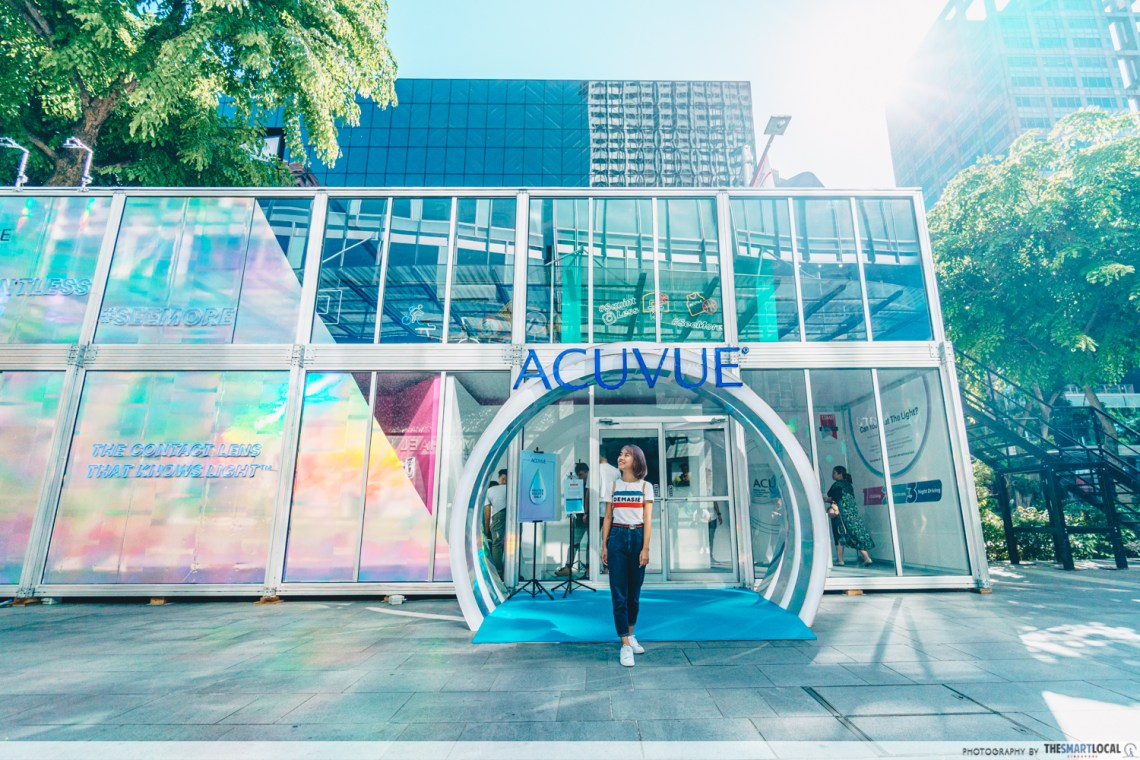 ACUVUE Pop-Up store along Orchard Road