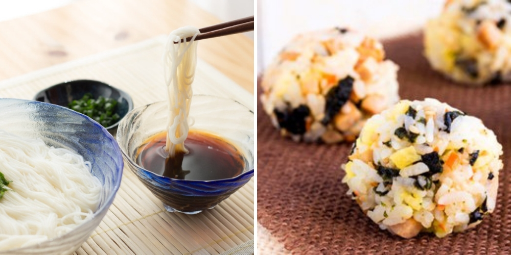 Japanese and Korean snacks