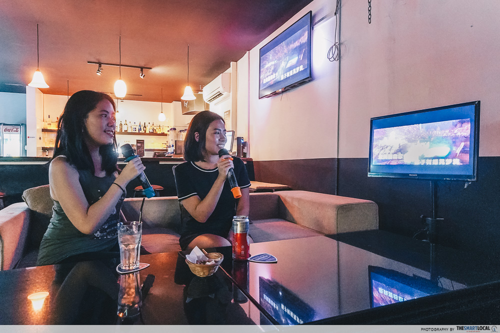 Karaoke North Singapore KTV 3O1 Bar Kitchen