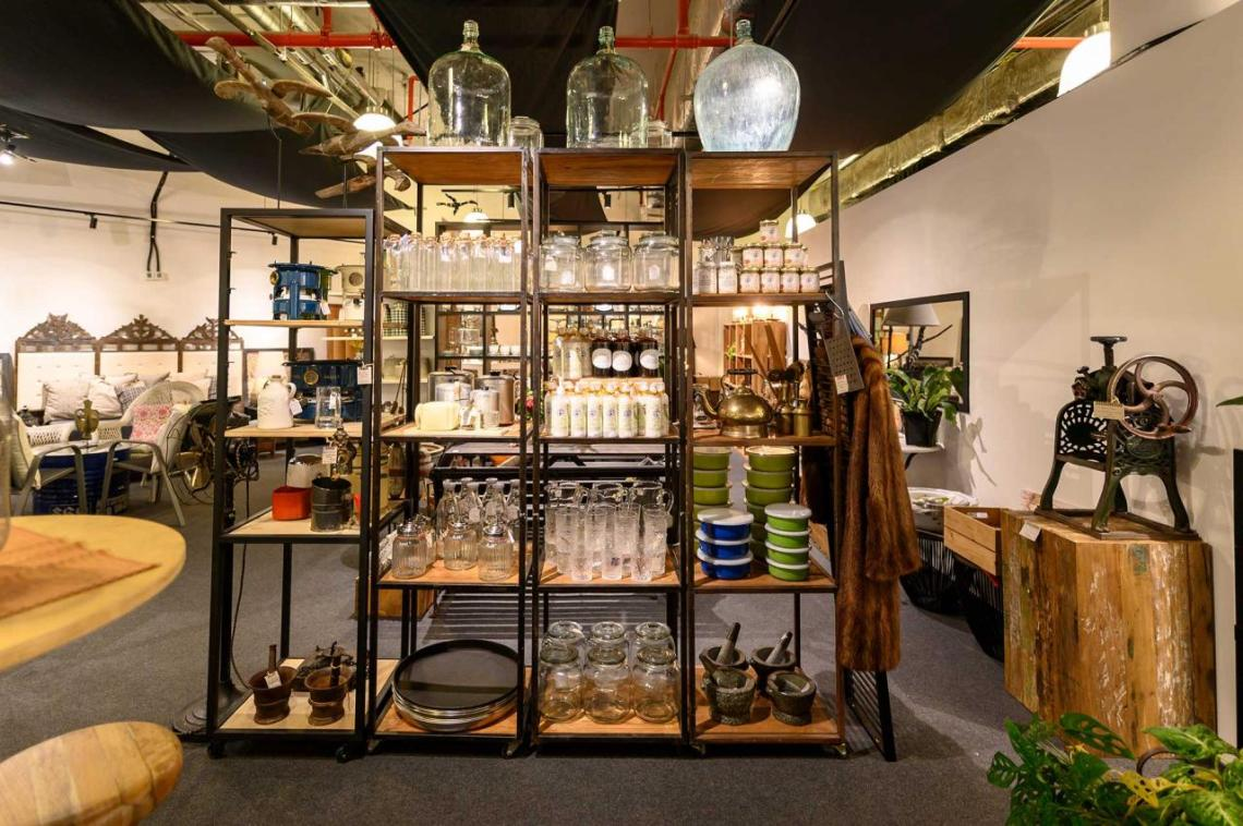 Secondhand furniture stores in Singapore - The GoDown