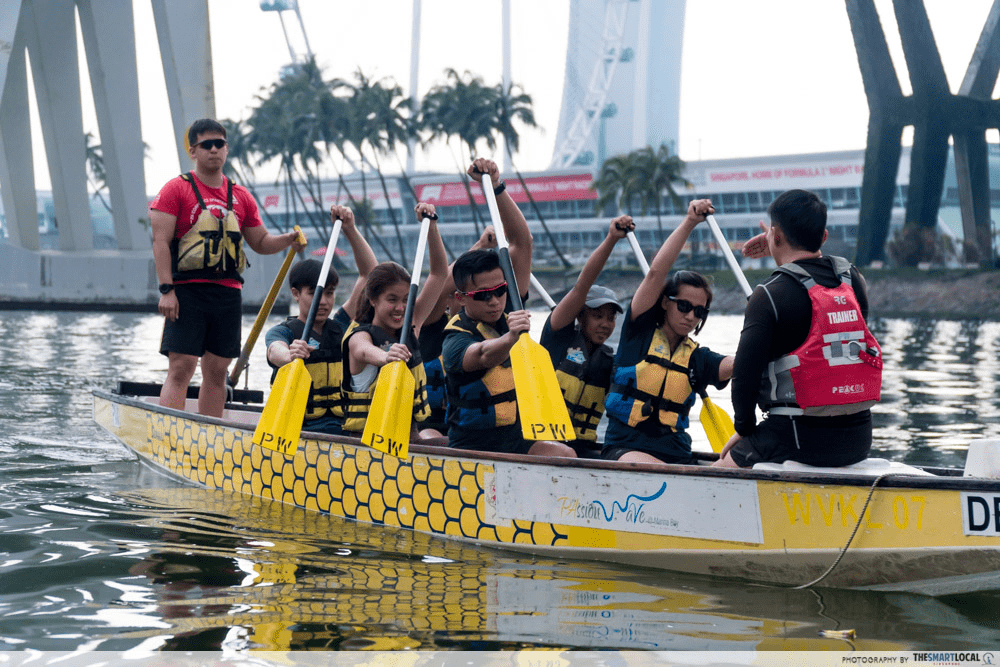YOUTHx Festival 2019 Singapore Youth Get Active Dragon Boating