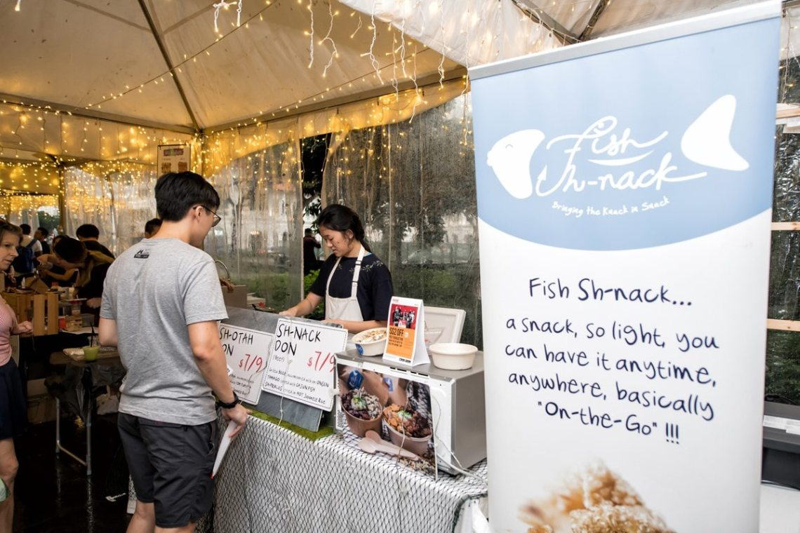 YOUTHx Festival 2019 Singapore Youth Music For A Cause Fish Sh-nack Stall