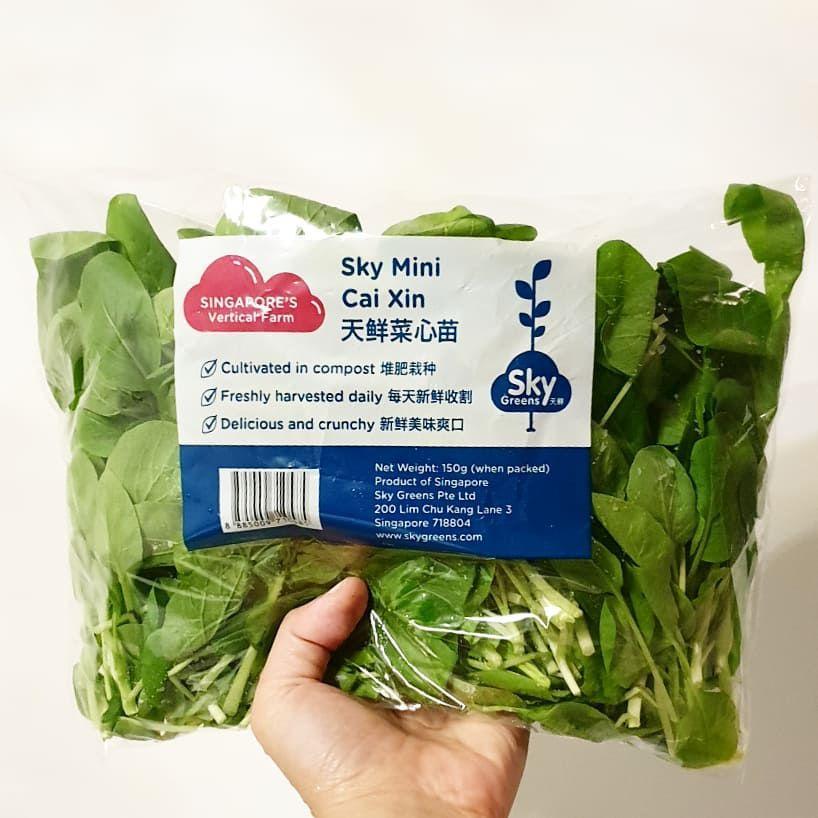 sky green veggies