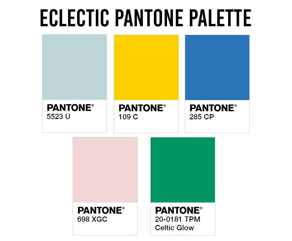HDB Colour Scheme Pantone Interior Design Eclectic Palette