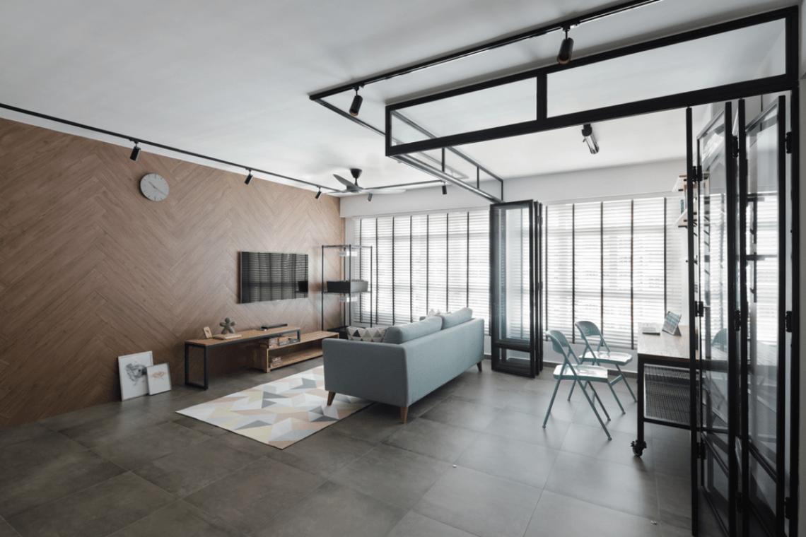 HDB Colour Scheme Pantone Interior Design Industrial Chic