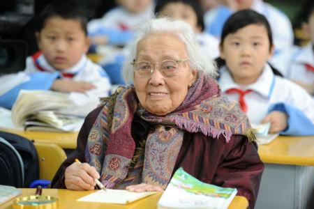 One of the oldest students in the world