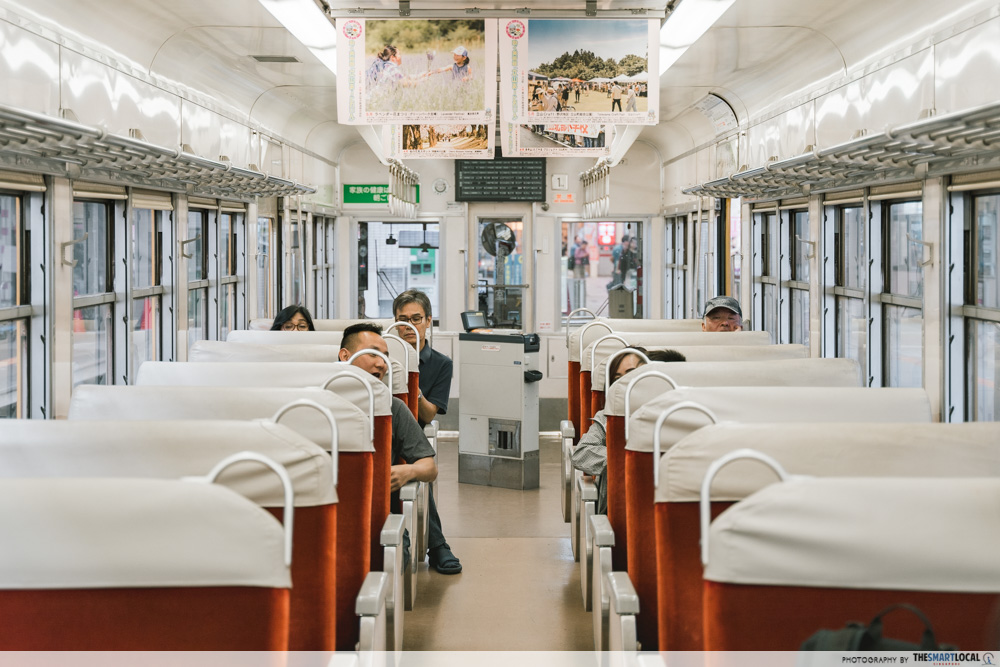 train to tateyama snow wall