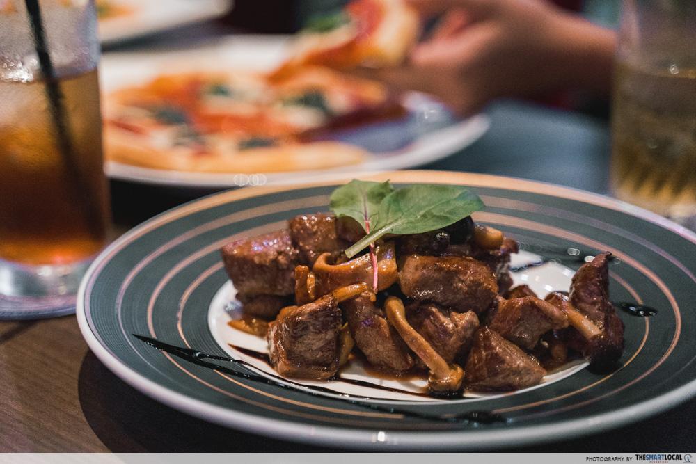 food at mahou dining bar