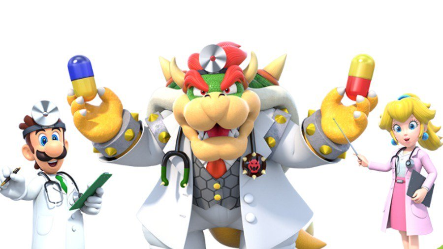 New Mobile Games - Dr. Mario World