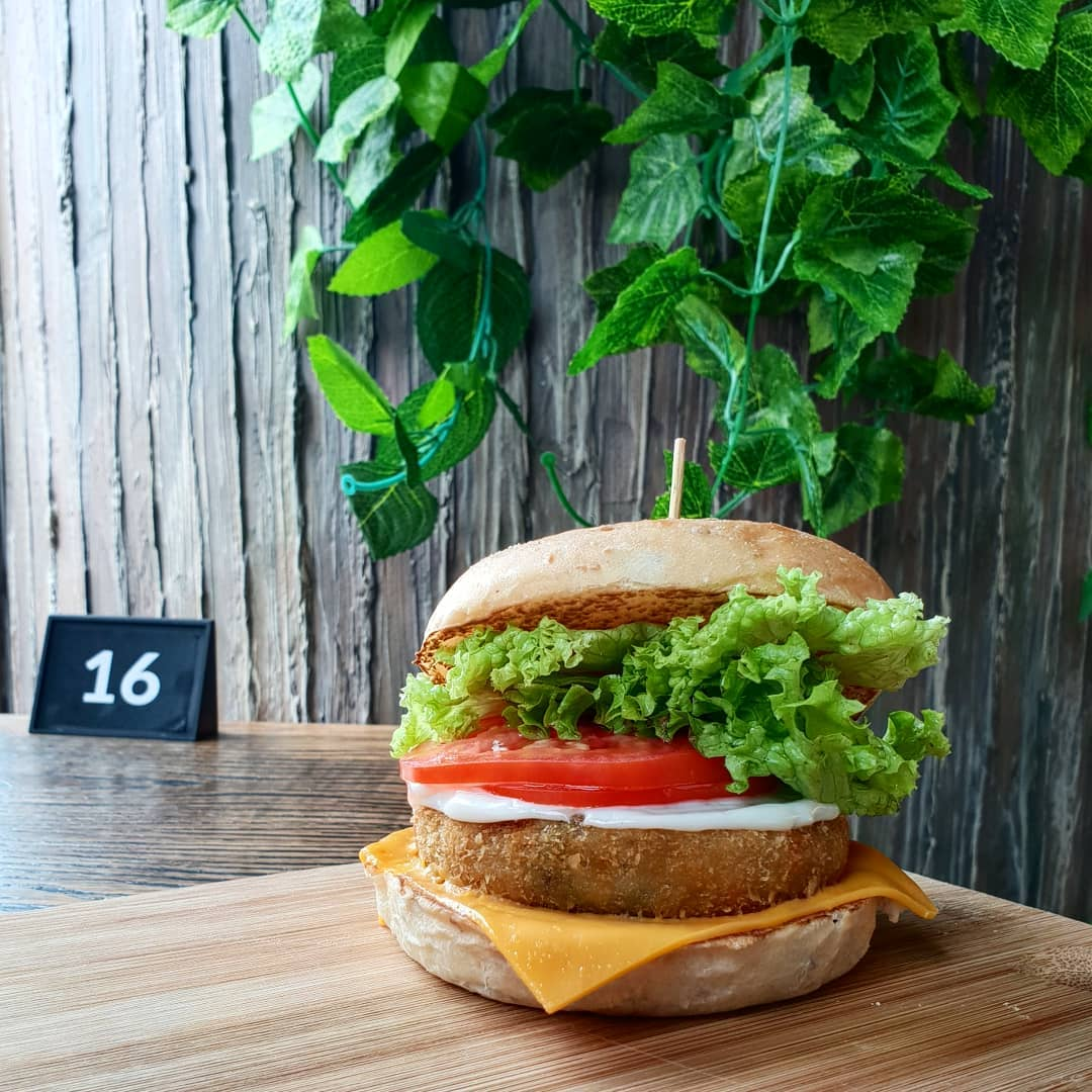 10 Vegetarian Food Delivery Options In Singapore For Meatless Meals Sent Straight To Your Door potato croquette burger