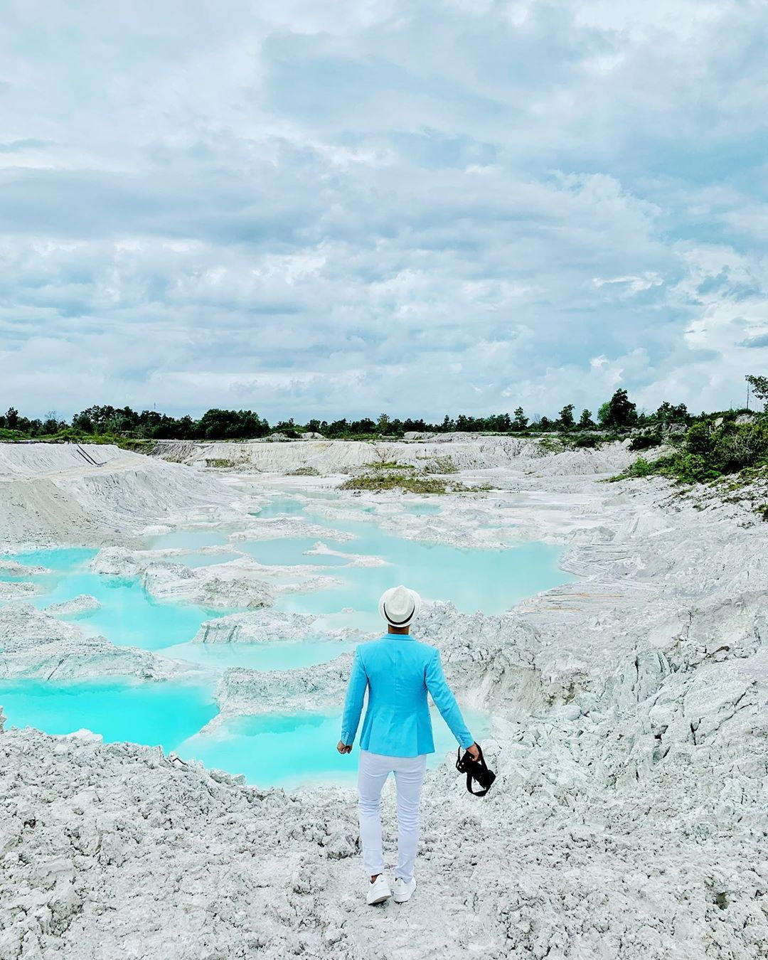 Things to do in Belitung Blue Kaolin Lake