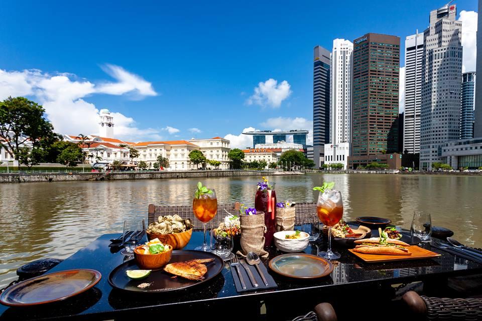 The Sampan waterfront view