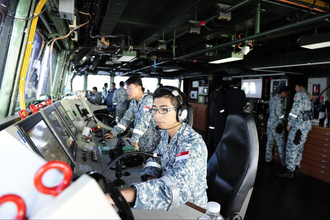 Join the Republic of Singapore Navy