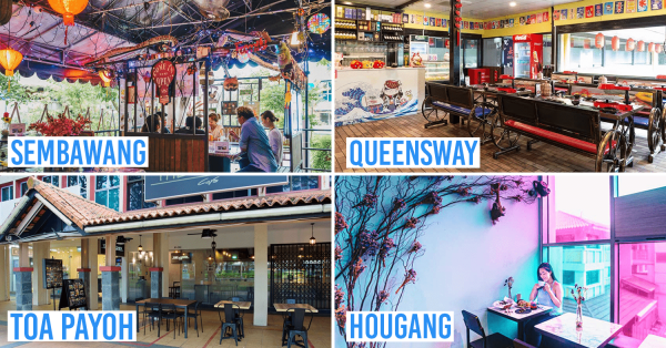 9 Hidden Cafes & Restaurants In Your Neighbourhood To Bring The Fam To Instead Of Town
