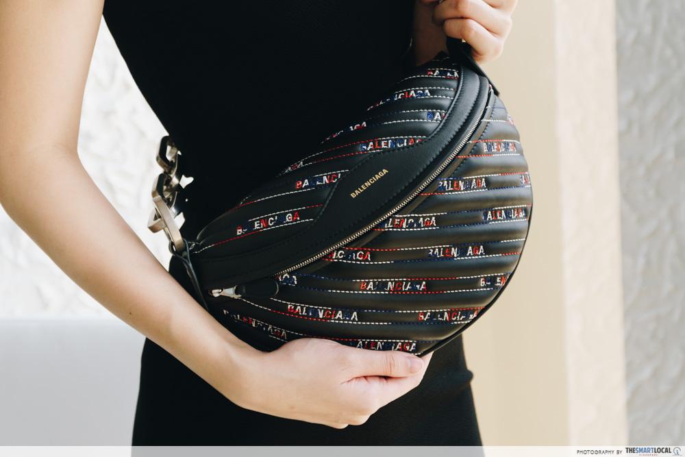 Reebonz Balenciaga Embroidered Souvenir Bag