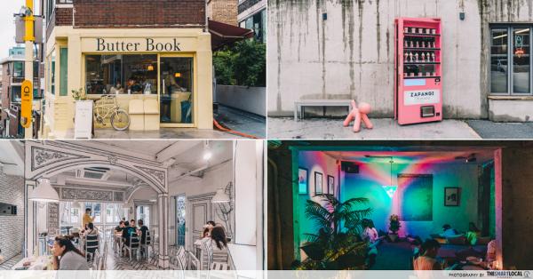 "10 Spoil-Market Themed Cafes In Seoul - Retro Swimming Pool, K-Drama ""W"" & Hidden Fridge Entrances"