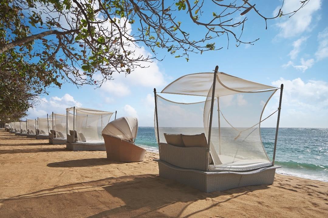 bali luxury hotels - the westin resort nusa dua, bali beach