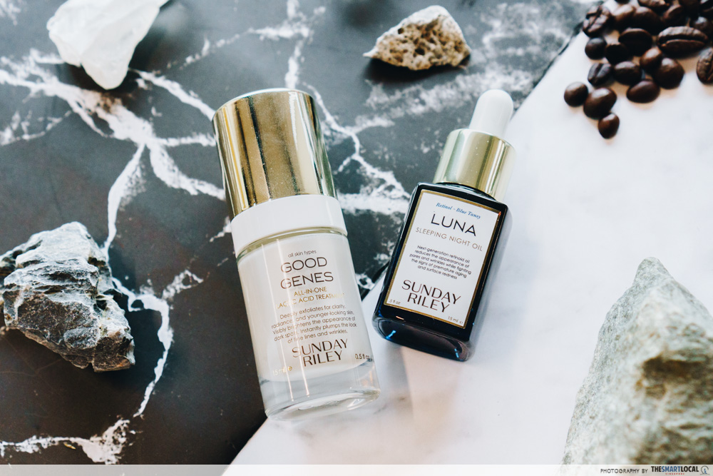 Sephora Beauty Pass Sale - Sunday Riley Power Couple Duo Kit: Luna Sleeping Night Oil and Good Genes Treatment