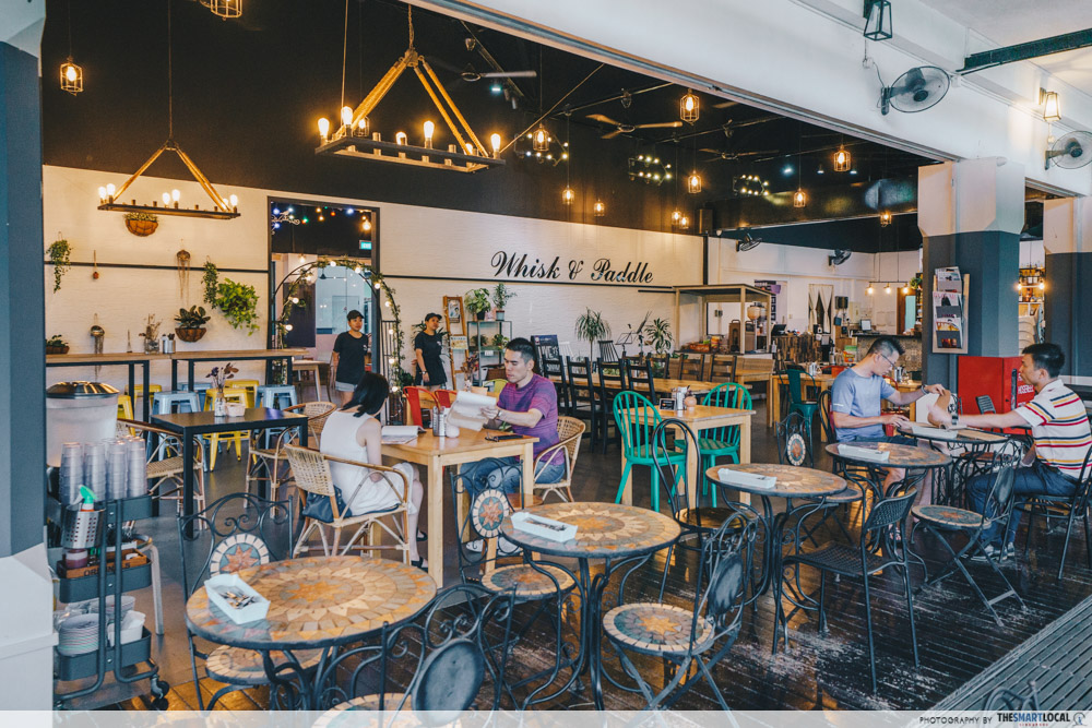 Whisk And Paddle Nature Cafes Singapore