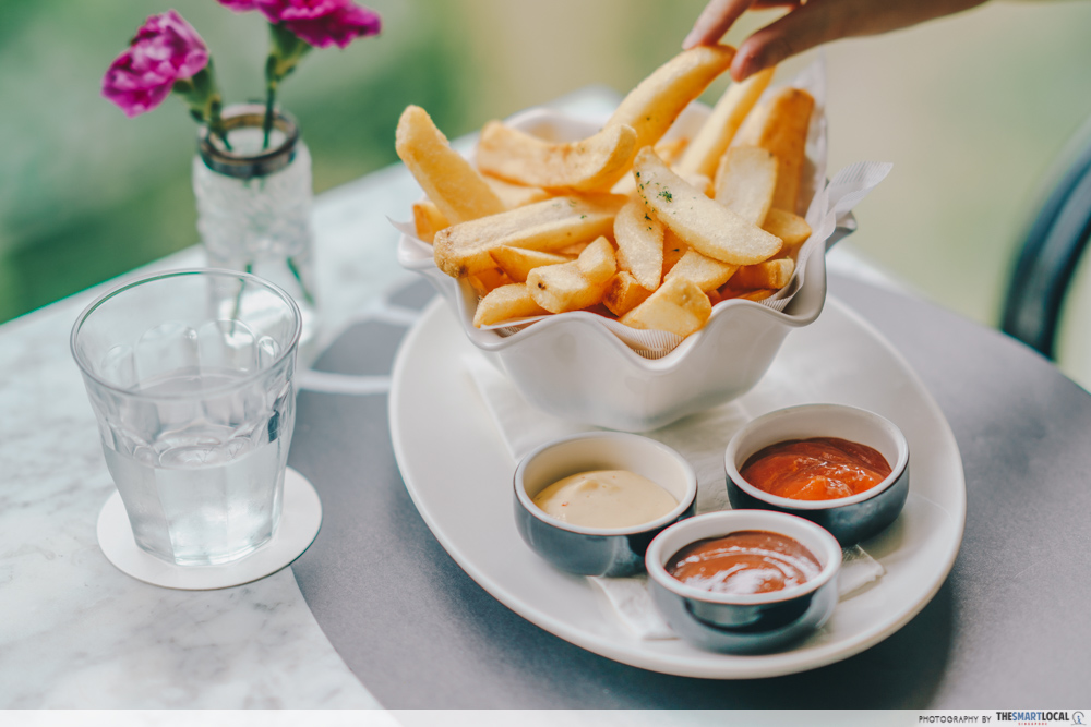 PS Cafe Chunky Fries Palais Renaissance Singapore