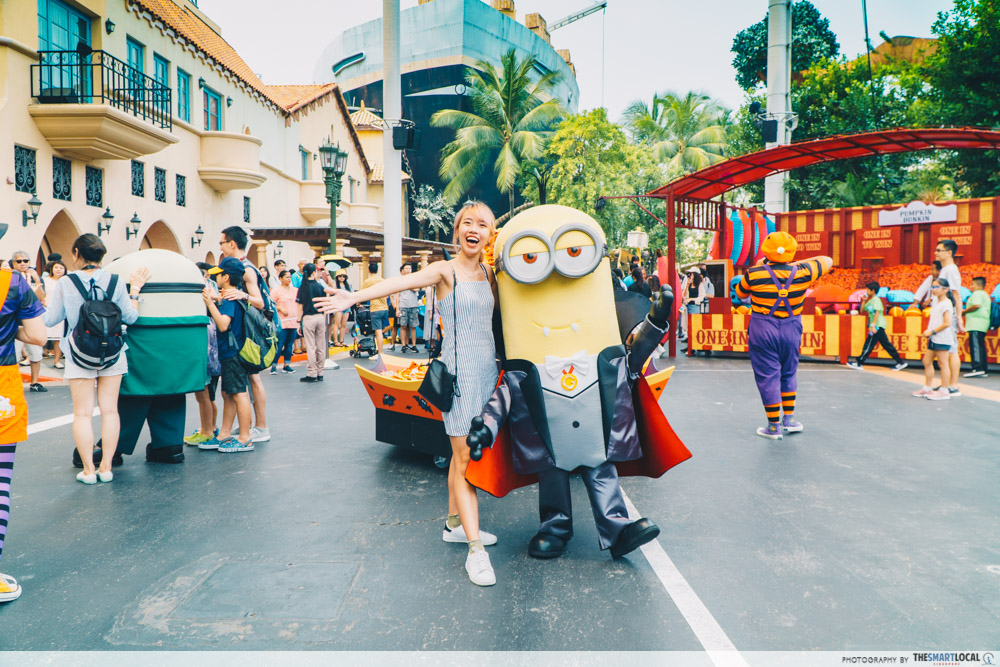 family-friendly day at Universal Studios Singapore