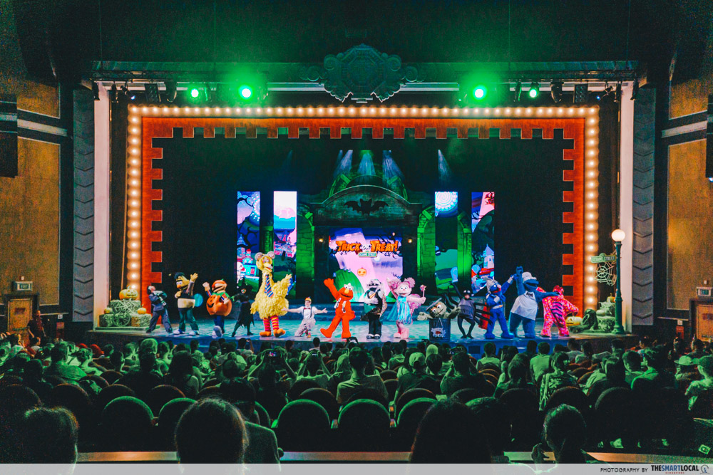 Trick or Treat with Sesame Street show