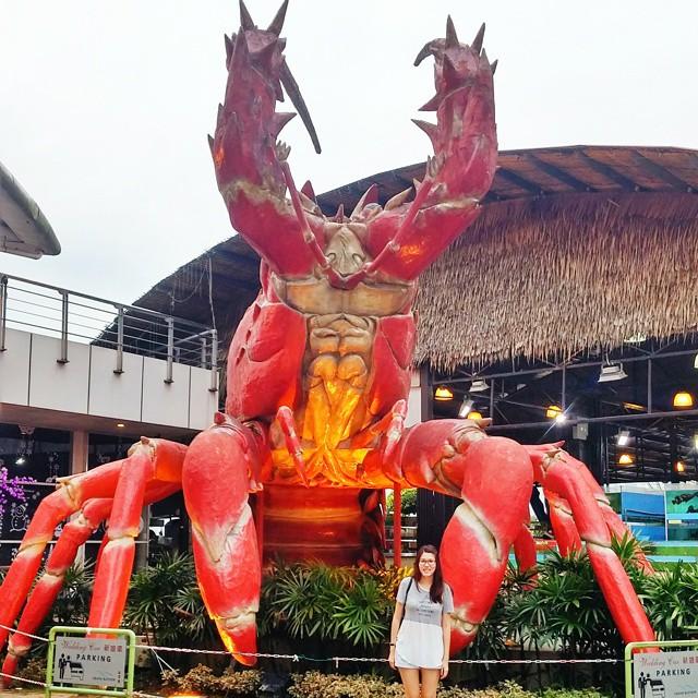 danga bay in jb - seafood market