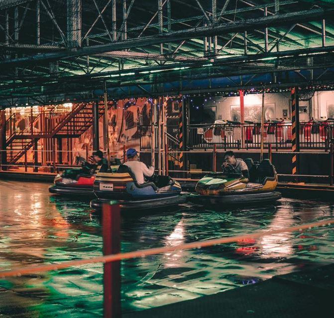 danga bay in jb - bumper car at danga bay world theme park
