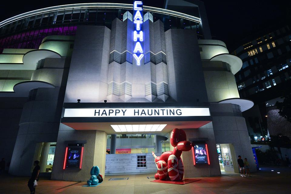 halloween events in singapore - cathay horror haunt