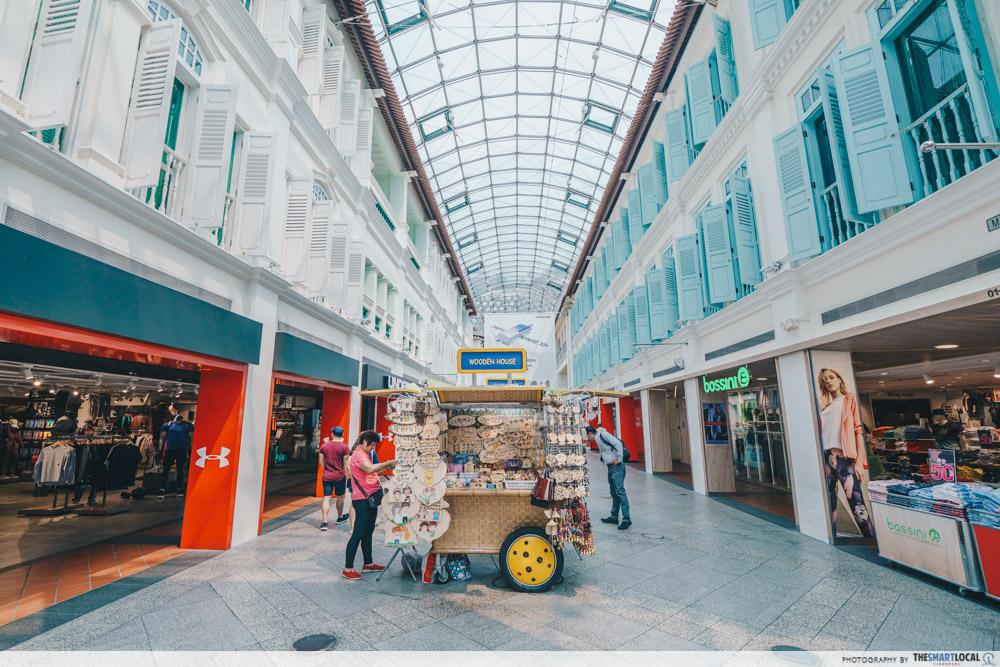 interesting singapore sites - bugis junction malay street