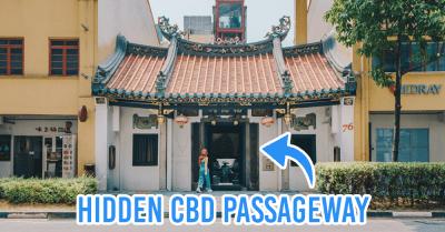 interesting singapore sites - fuk tak chi entrance to CBD